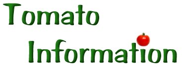 Tomato Nutional Information